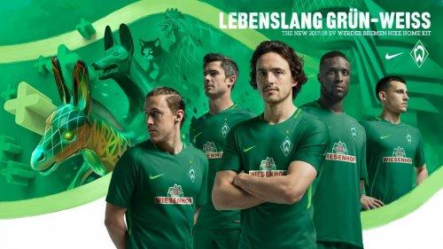 Las camisetas del Werder Bremen para 2017/2018