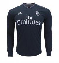adidas Real Madrid Manga larga Camiseta de la 2ª equipación 18 19 5169bbab5e91c