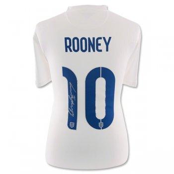Signed Wayne Rooney 14 15 England CAMISETAS DE FÚTBOL d798ff0e7c8