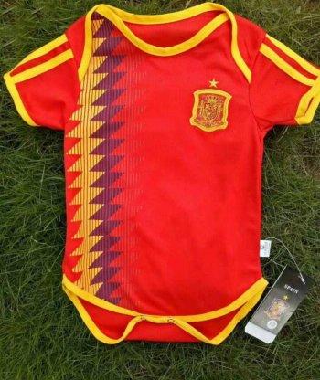 e276afc8d5bc7 Camiseta España 1ª Equipacion Bebés 2018 2019