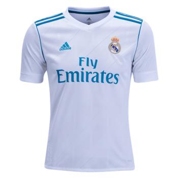 adidas Real Madrid - Niños Camiseta de la 1ª equipación 17 18 fed84111a08a7