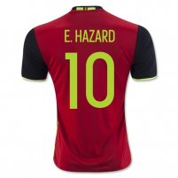 Belgium 2016 E. HAZARD Camiseta de la 1ª equipación e6dead9ae3e58