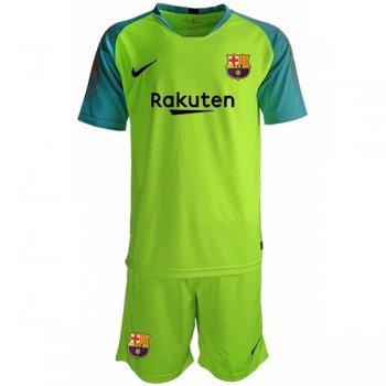 25ce8bfa21 Camisetas Clubes | Barcelona Camiseta 18/19 portero Ropa de niños verde