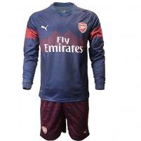 0a936d5f3fee8 Arsenal 18 19 Manga larga Camiseta de la 2ª equipación