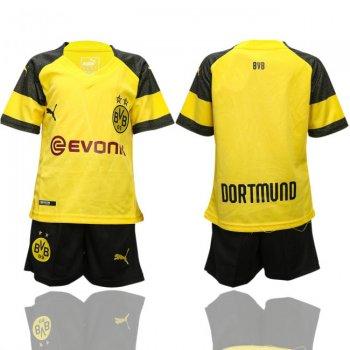 06a13e5a34 PUMA Borussia Dortmund Camiseta de la 1ª equipación 18 19 Niños