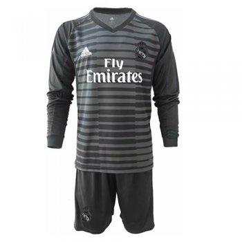 d0ebabefd355e Camiseta Real Madrid Portero Equipacion 2018 2019 Negro Niños