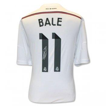 Icons Gareth Bale Real Madrid 1ª EQUIPACIÓN 14 15 Back Signed CAMISETAS DE  FÚTBOL af64605ab7905