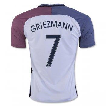 91de4585ed694 Francia 2016 GRIEZMANN Camiseta de la 2ª equipación