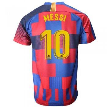 estilos clásicos bonito diseño servicio duradero Camiseta del estadio del 20 aniversario de Barcelona Lionel Messi