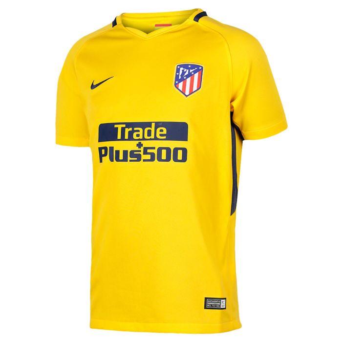 Camisetas Clubes Camiseta Atletico Madrid Segunda Equipacion 2017 2018 Niños