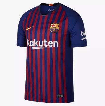 Barcelona 18/19 Camiseta de la 1ª equipación