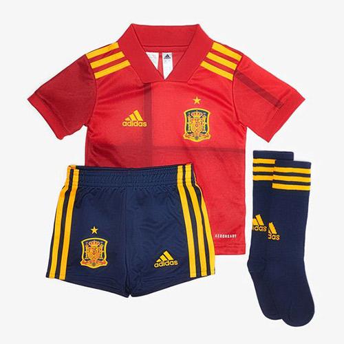 Camisetas de la 1ª Equipacion Eurocopa 2020/21 Niños España